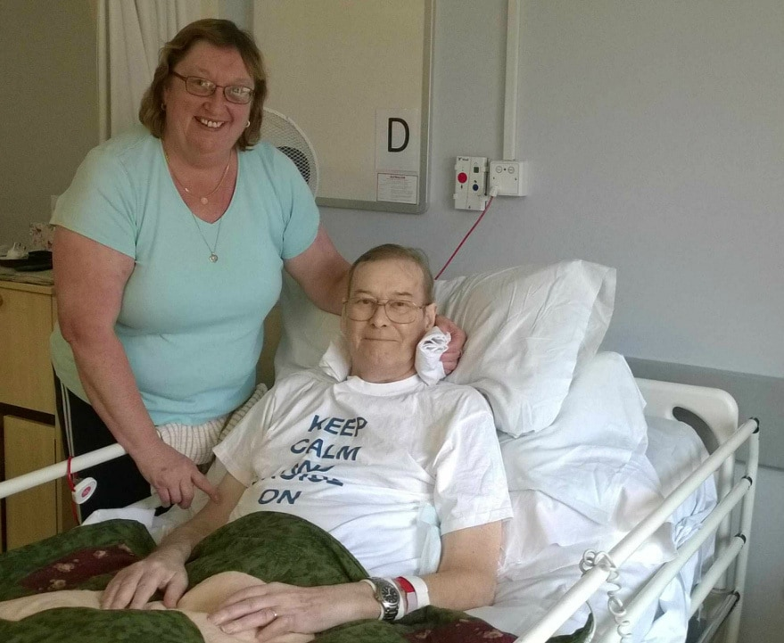 couple praise local hospice