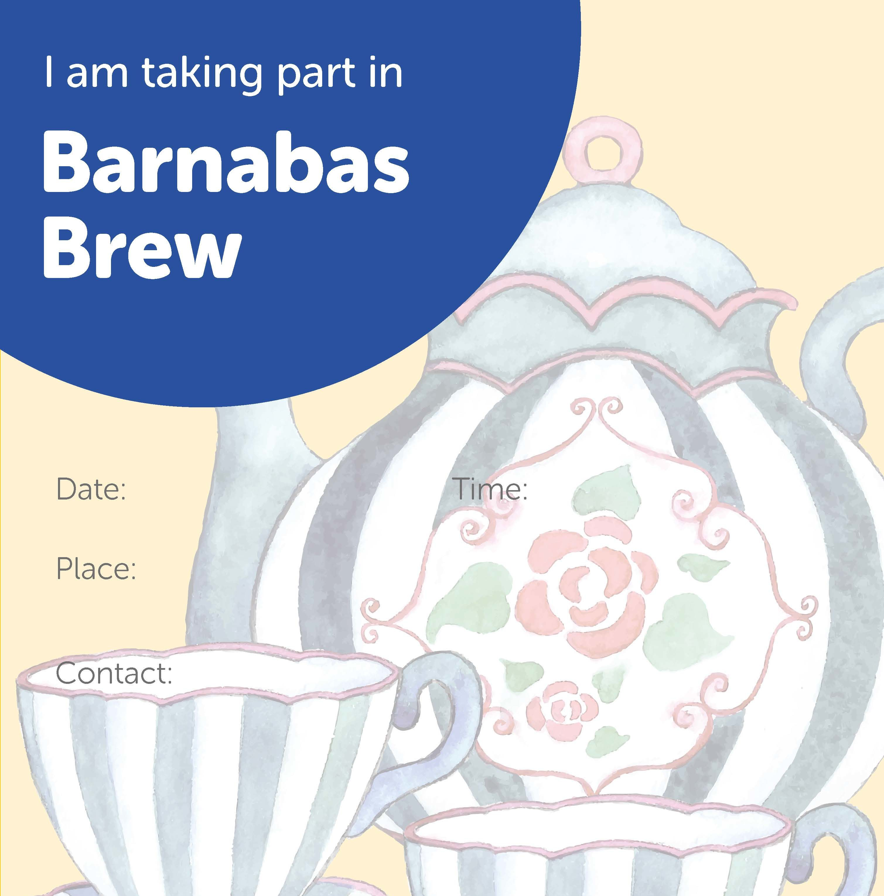 Barnabas Brew Supporter Poster