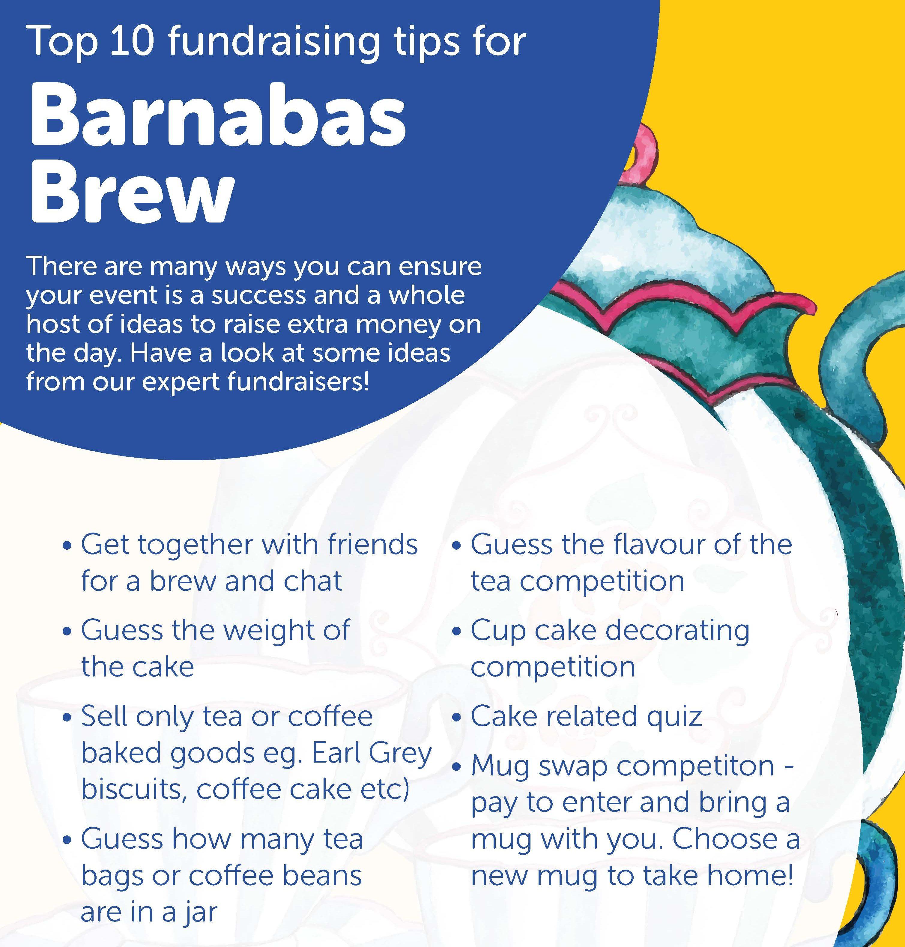 Barnabas Brew Fundraising Tips