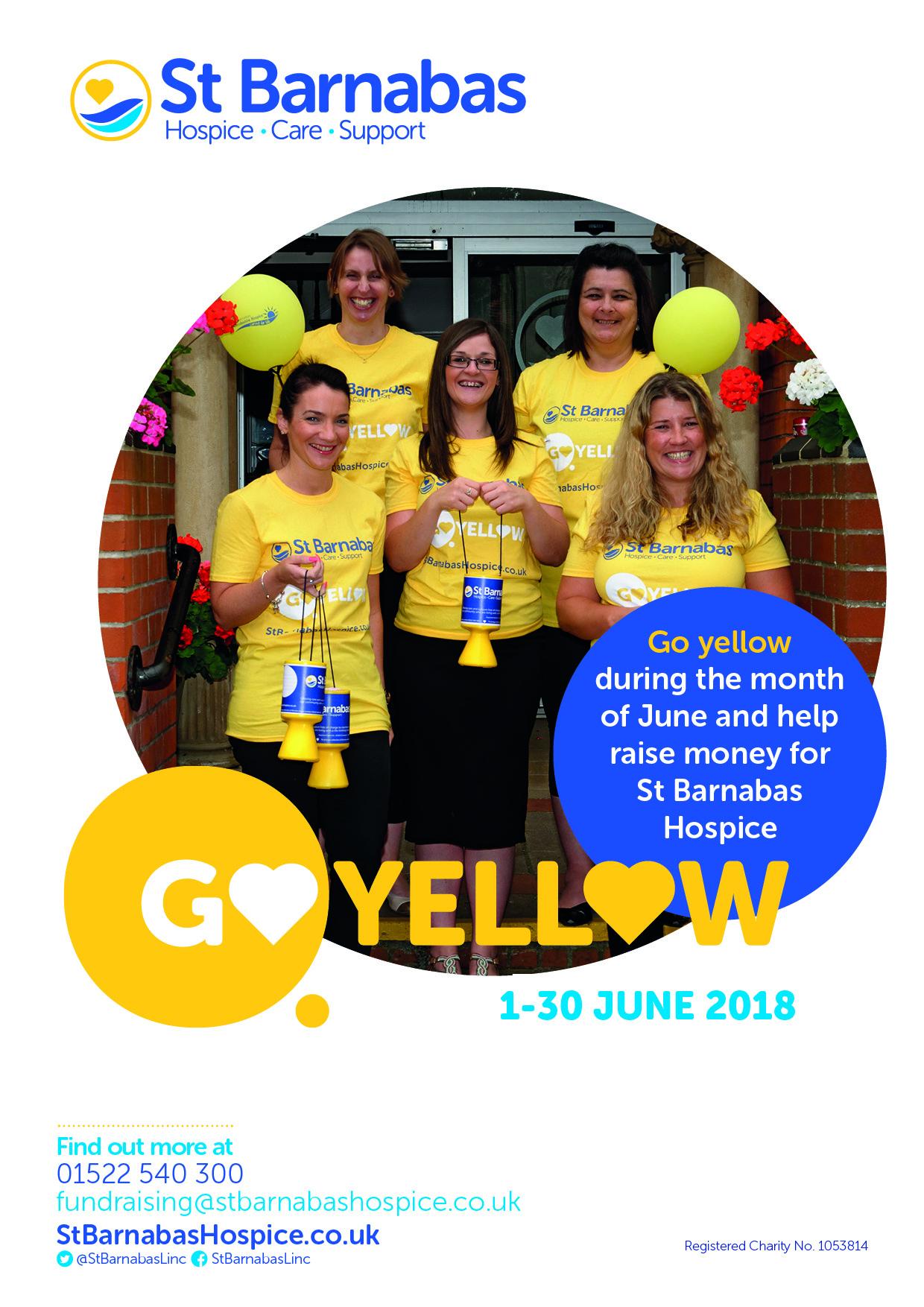 Go Yellow A5 Leaflet