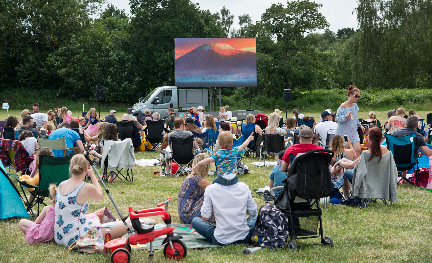 Hospice are delighted with the success of their Barnabas Big Screen