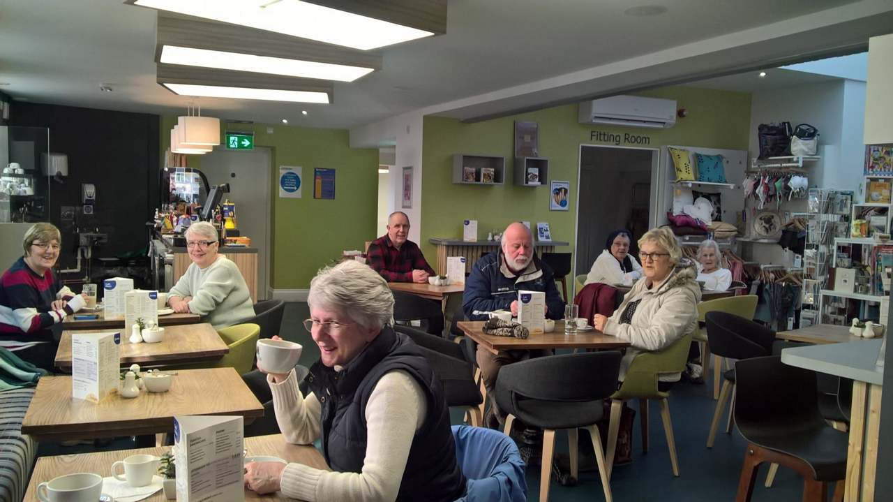 St Barnabas Hospice has introduced a range of improvements to their Spalding café