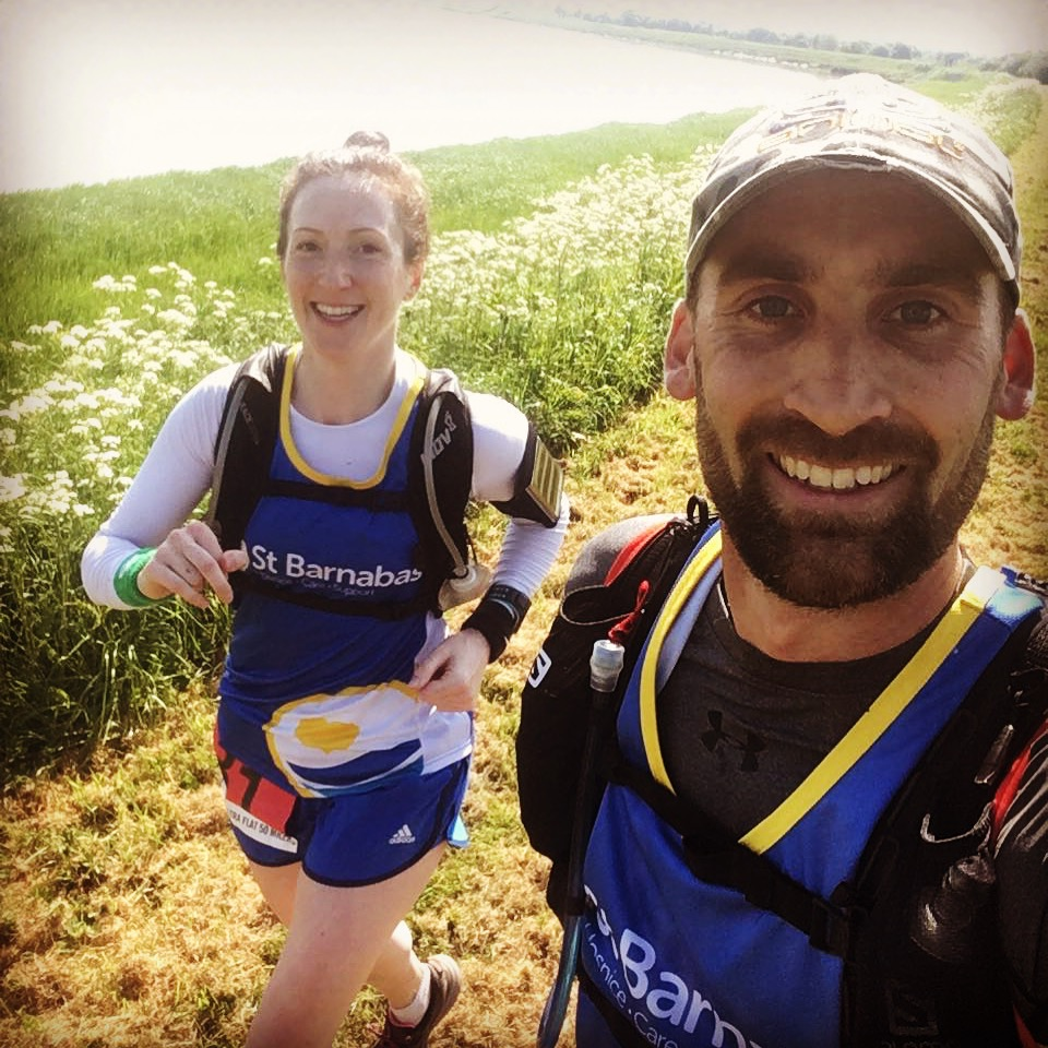 Couple have taken on the Westcountry Ultra Flat 50 Miler and raised £2,500