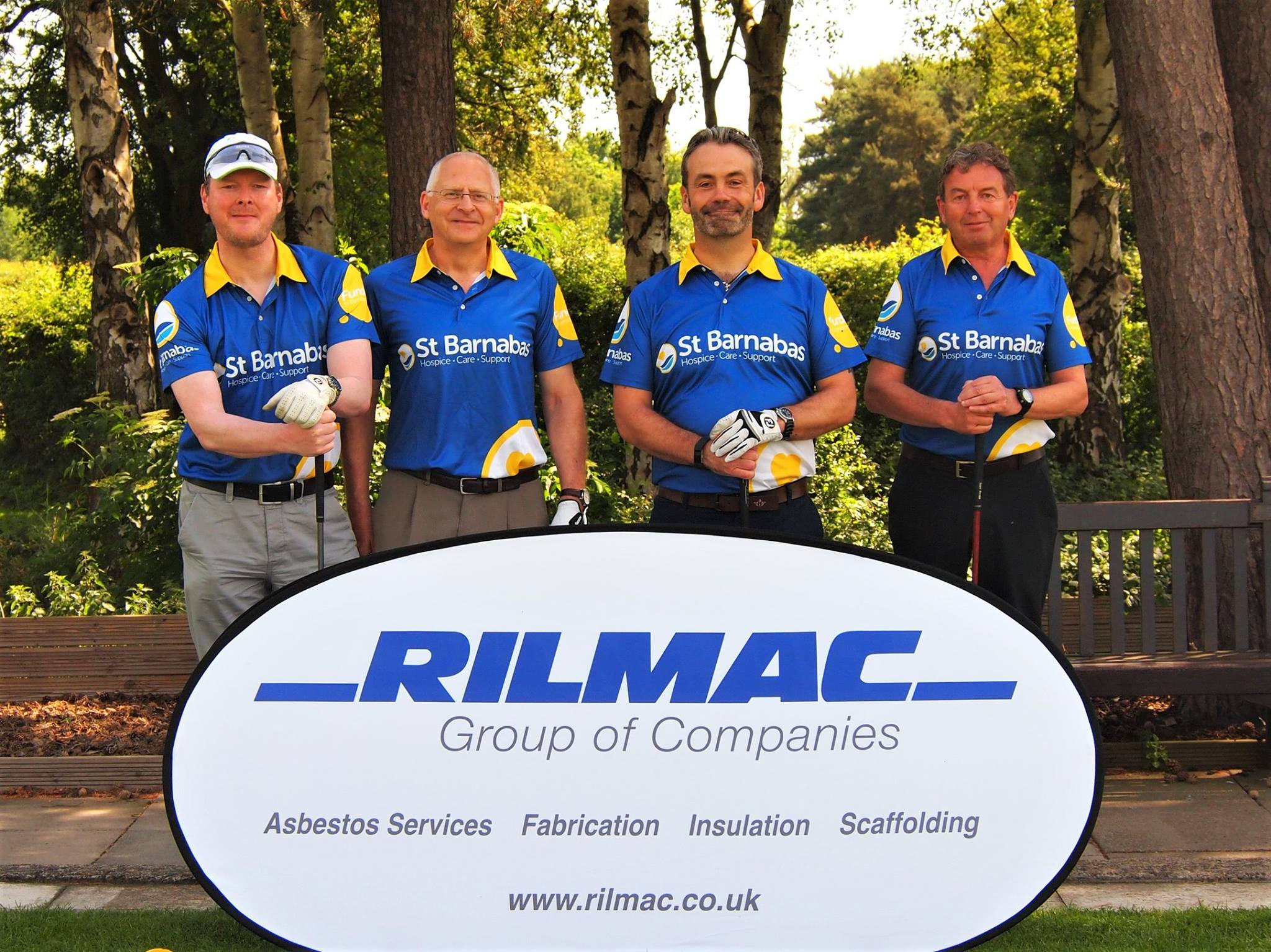 Join St Barnabas at the annual Rilmac Golf Day in Market Rasen