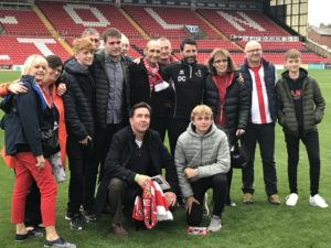 Football club have gone above and beyond to facilitate final wish