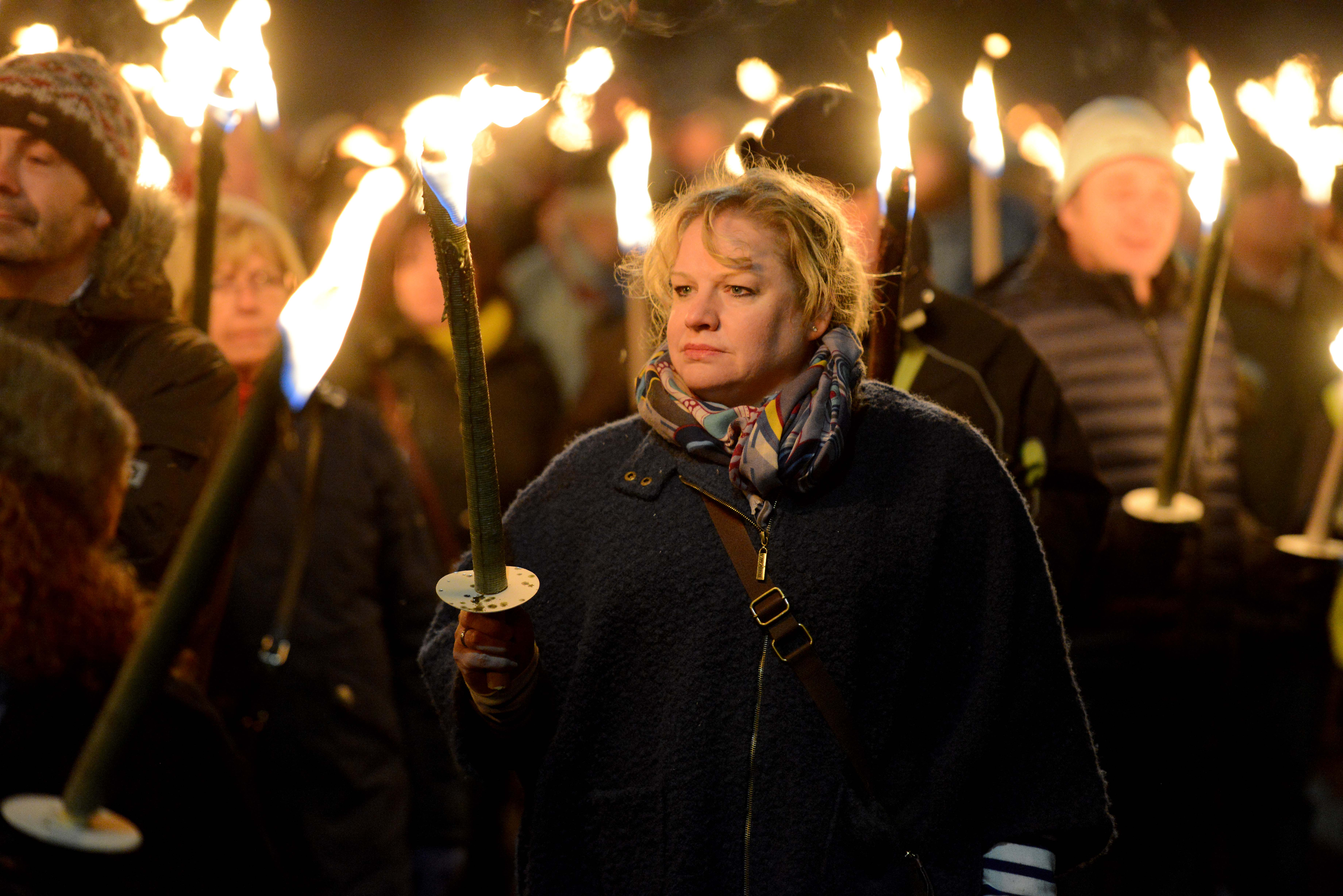 St Barnabas Torchlight Procession