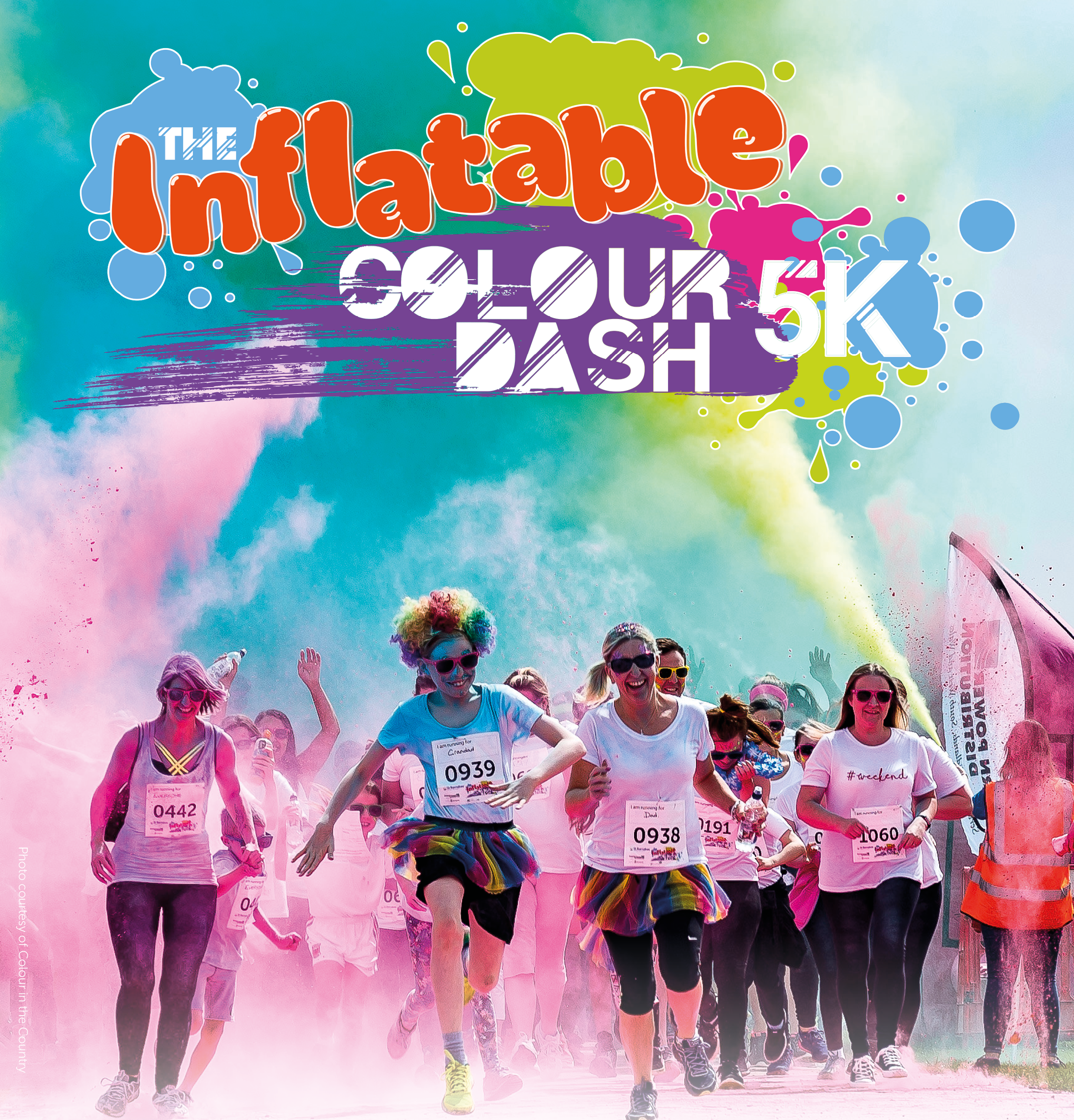 inflatable colour dash