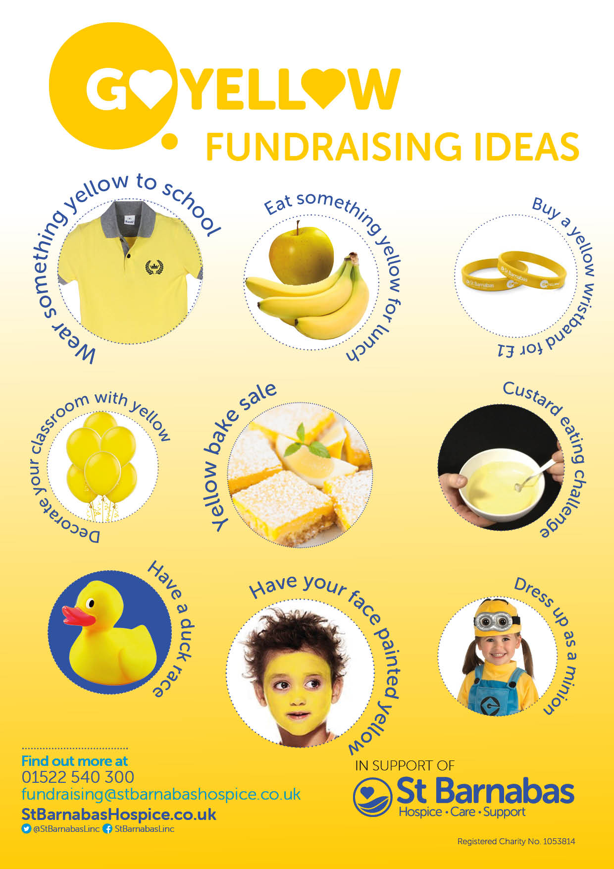 Go Yellow Schools Event Ideas