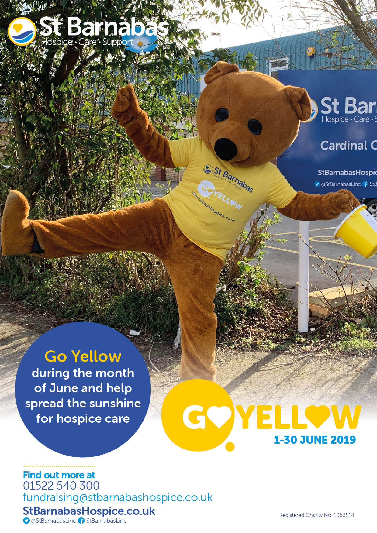 Go Yellow Schools Event Poster