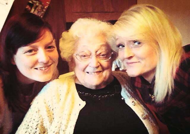 Sarah, Gemma and their Nana
