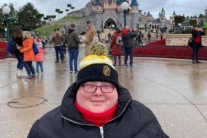 Helen in Disneyland