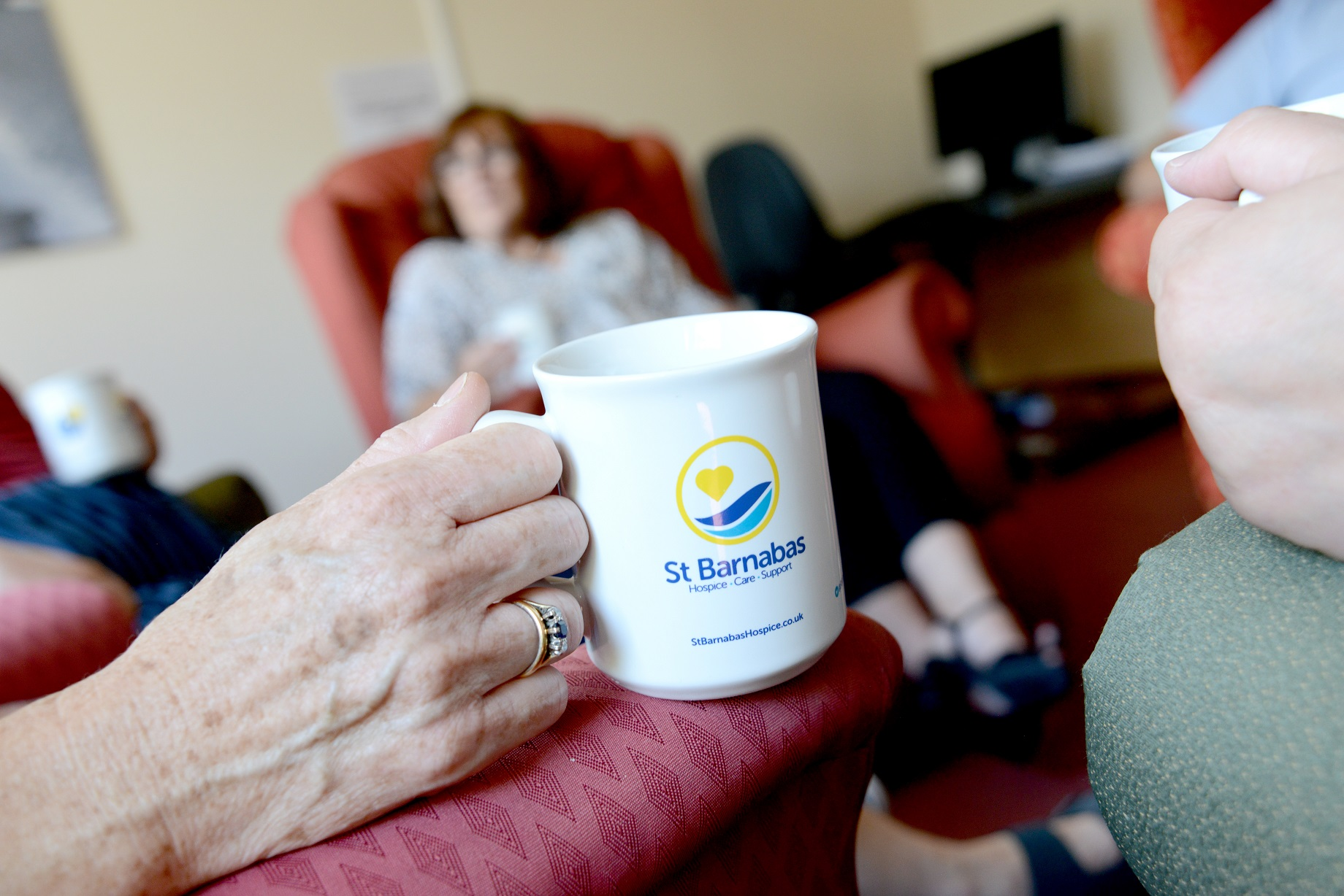 St Barnabas counselling session