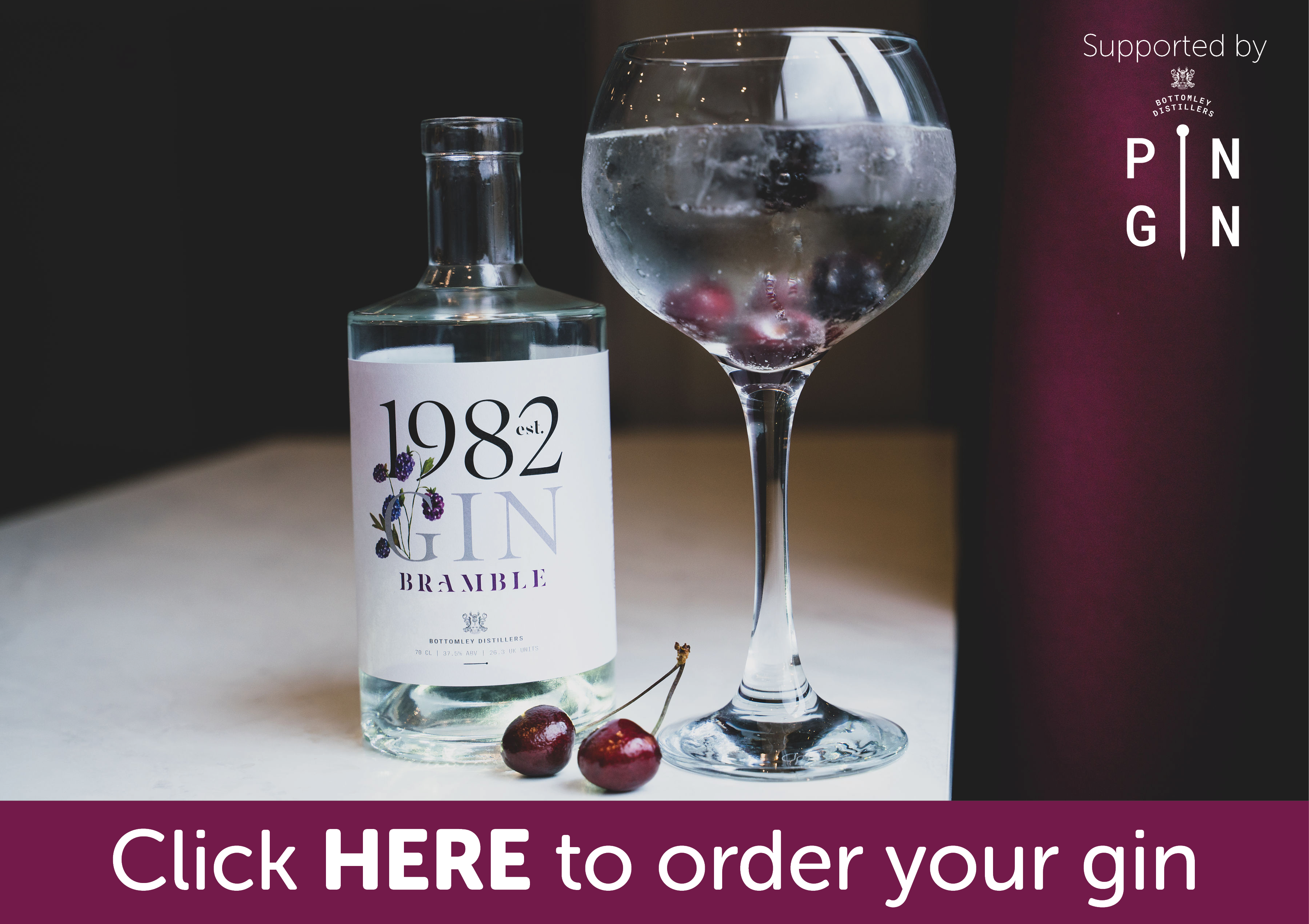 Gin ordering button